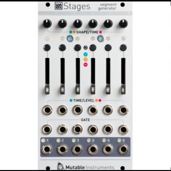 Mutable Instruments Stages Eurorack Segment Generator Module