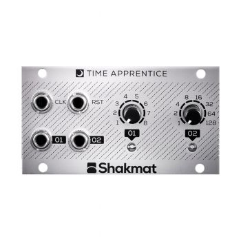 Shakmat Modular Time Apprentice Eurorack Clock Divider Module (1U)