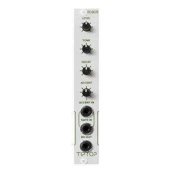 TipTop Audio BD808 NS Analogue Bass Drum Eurorack Module (New Style)