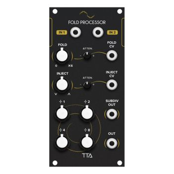 TipTop Audio Fold Eurorack Wavefolder Module (Black)