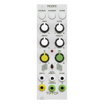 TipTop Audio ModFX Eurorack Effects Module (White)