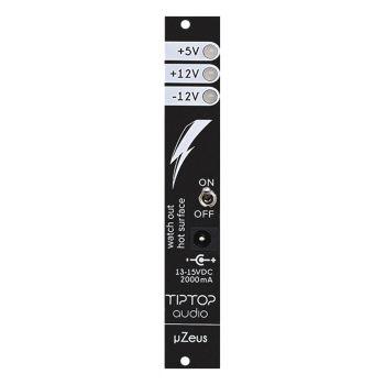 TipTop Audio uZeus Eurorack Power Supply Module (Black)