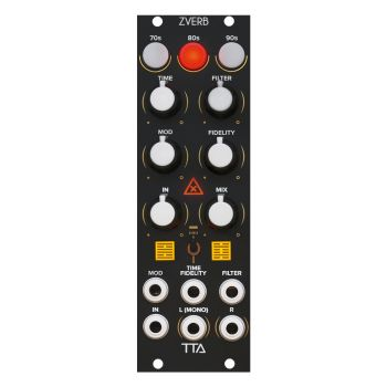 TipTop Audio ZVerb Eurorack Reverb Module (Black)