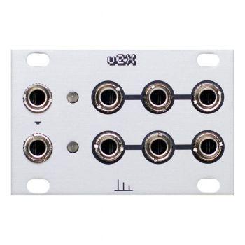 Transient Modules U2X Eurorack 1U Dual Buff Mult Module