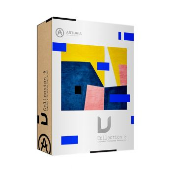 Arturia V-Collection 8 Virtual Instrument Collection (Boxed)