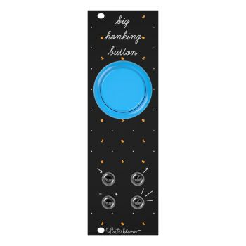 Winterbloom Big Honking Button Eurorack Sample Trigger Module (Black/Blue)