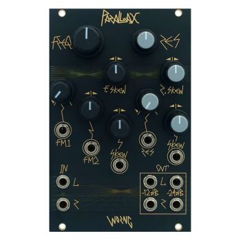 Worng Electronics Parallax Eurorack Stereo Filter Module