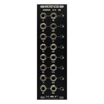 XOR Electronics CV16 Eurorack Expander Module (NerdSeq - Black)