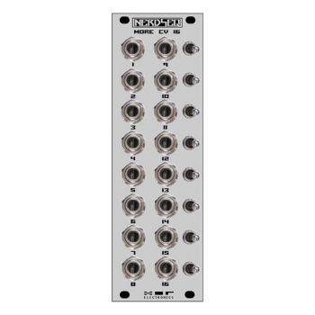 XOR Electronics CV16 Eurorack Expander Module (NerdSeq - Grey)