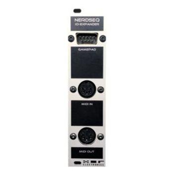 XOR Electronics MIDI I/O Eurorack Expander Module (NerdSeq  - Grey/Black)