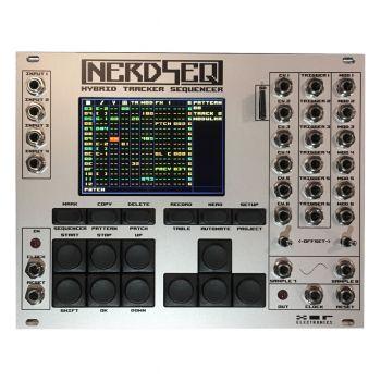 XOR Electronics NerdSeq Eurorack Tracker Sequencer Module (Grey)