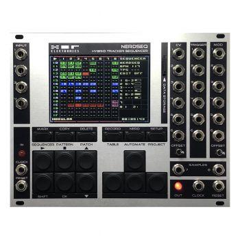XOR Electronics NerdSeq Eurorack Tracker Sequencer Module (Grey/Black)