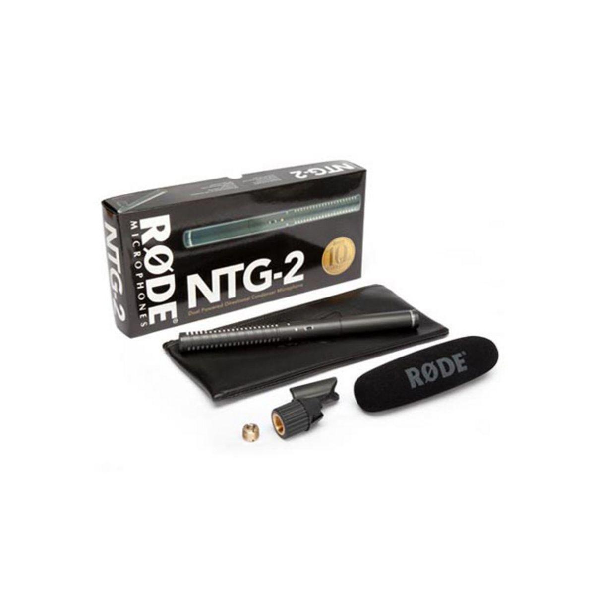 Rode NTG2 Shotgun Condenser Microphone