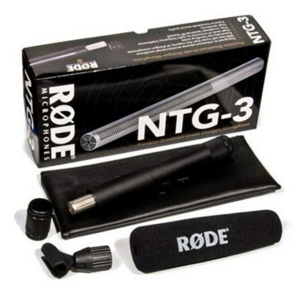 Rode NTG3 Shotgun Condenser Microphone