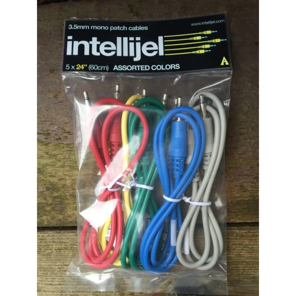 Intellijel Eurorack Patch Cables (60cm) - 5 Pack