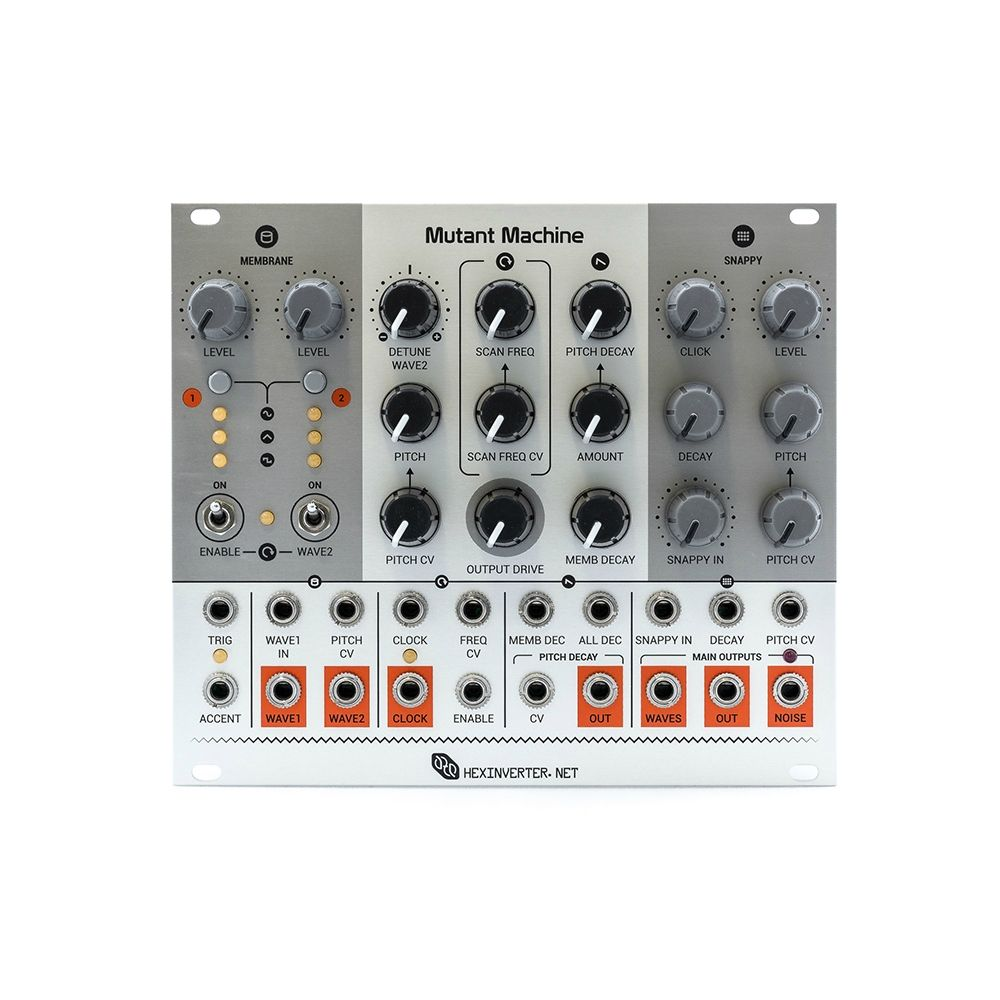 Hexinverter Electronique Mutant Machine Eurorack Drum Synth Module