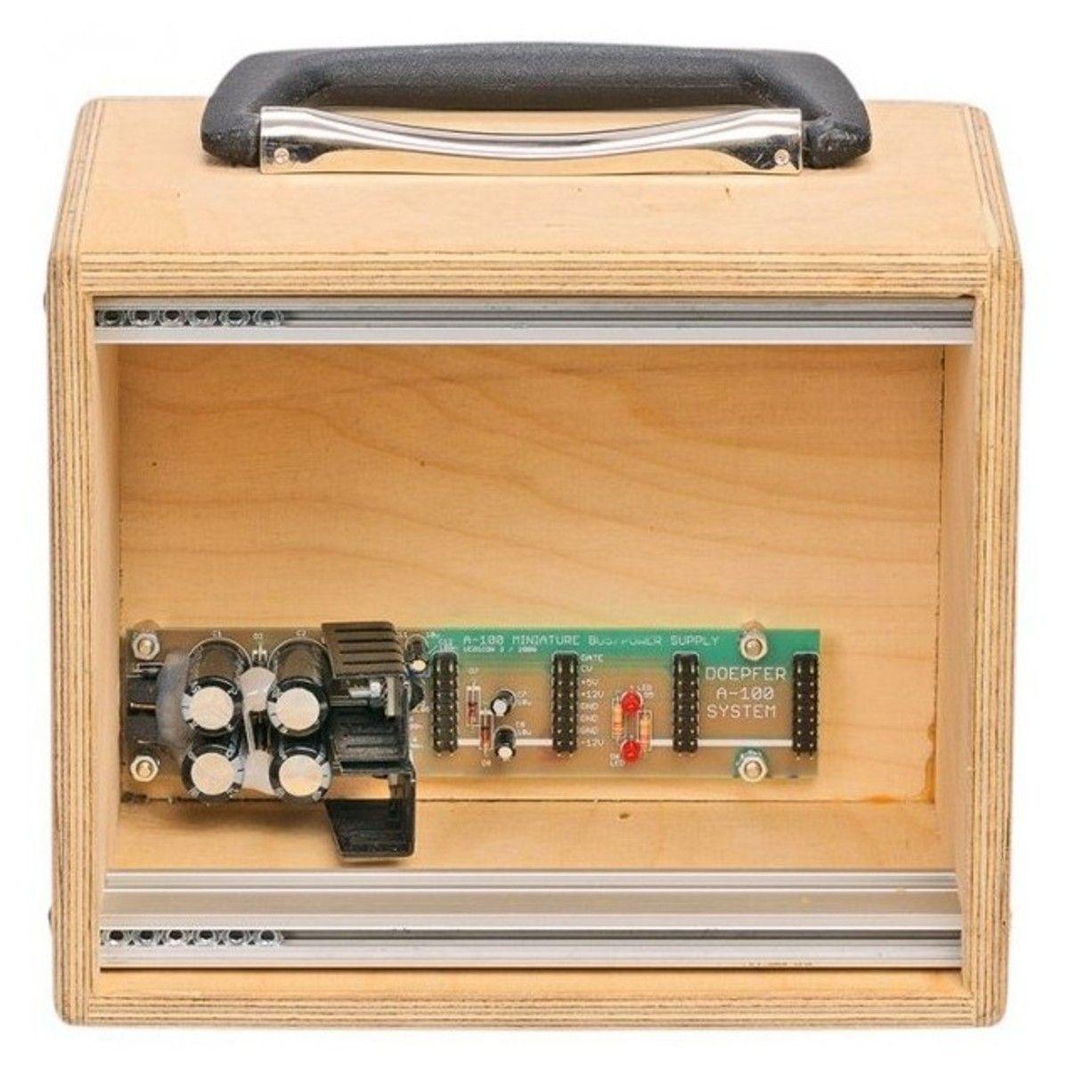 Doepfer A-100 MC Eurorack Compact Powered Case (3U - 32hp) RAW