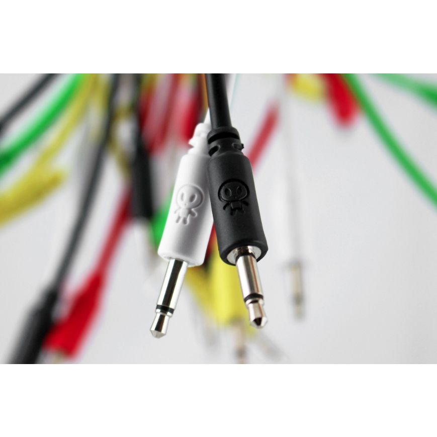 Erica Synths Eurorack Patch Cables 5 Pack (20cm Green)
