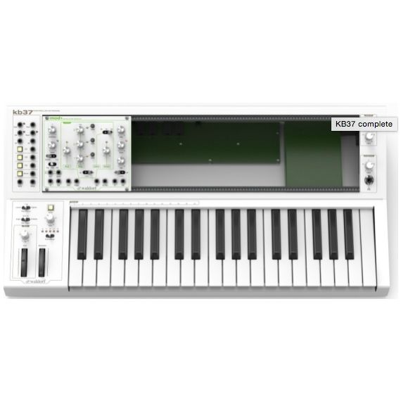 Waldorf KB37 Eurorack Keyboard & Powered Case