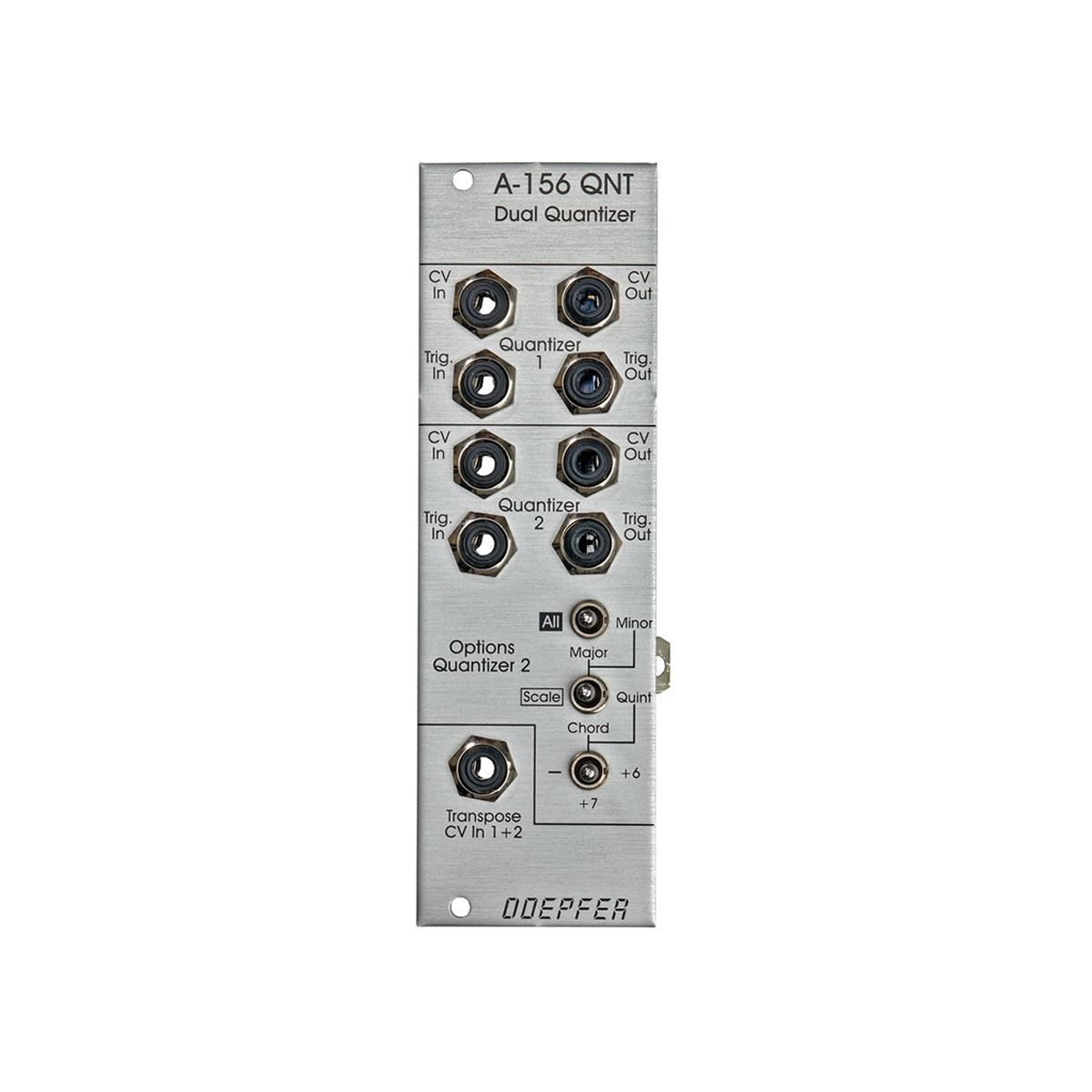 Doepfer A-156 Eurorack Dual Quantizer Module
