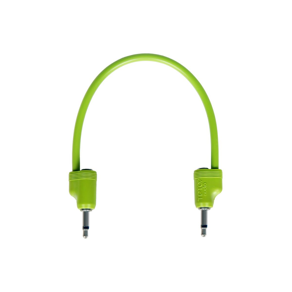 TipTop Audio StackCable 20cm Eurorack Multi Patch Cable  (Green)