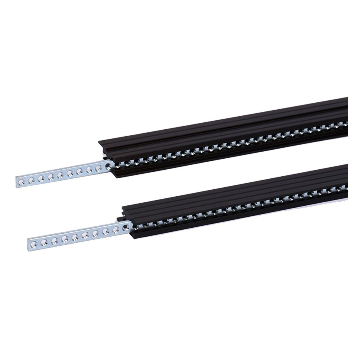 TipTop Audio Z-Rails 104HP Eurorack Mounting Rails - Black (Pair)