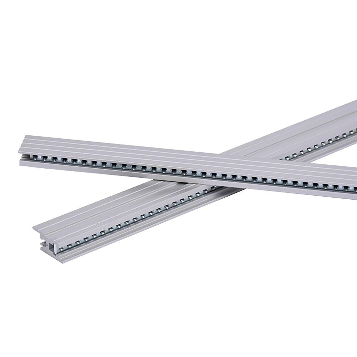 TipTop Audio Z-Rails 84HP Eurorack Mounting Rails - Silver (Pair)