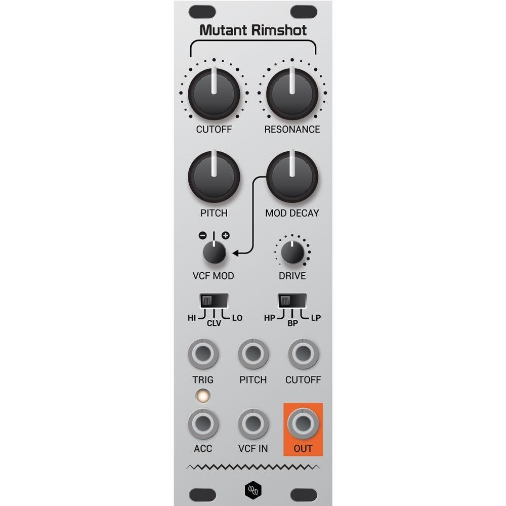 Hexinverter Electronique Mutant Rim Shot Eurorack Drum Module