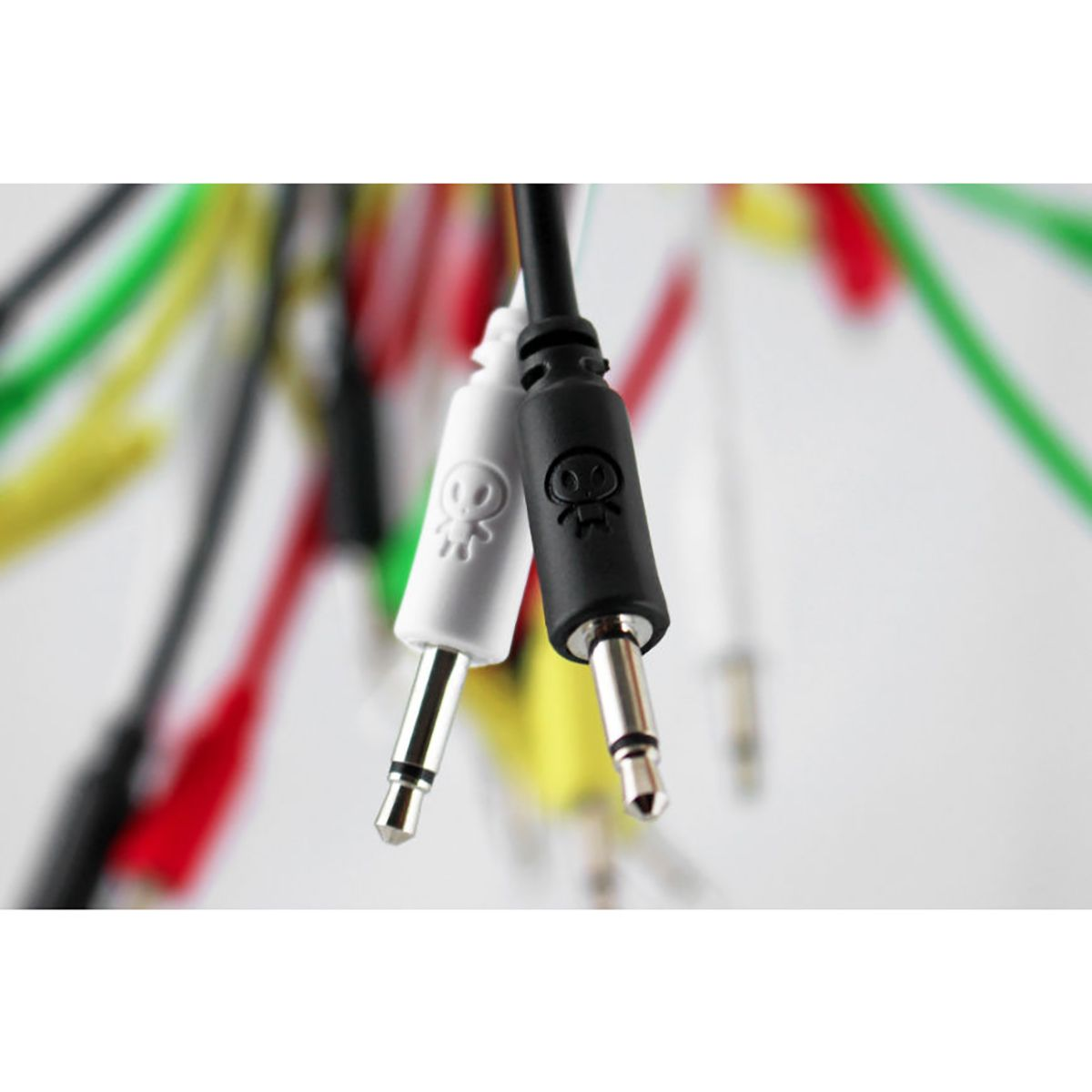 Erica Synths Eurorack Patch Cables 5 Pack (10cm White)