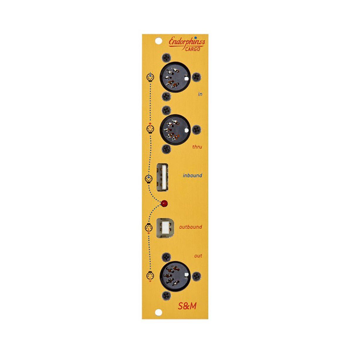 Endorphin.es Shuttle Mate Eurorack MIDI Module