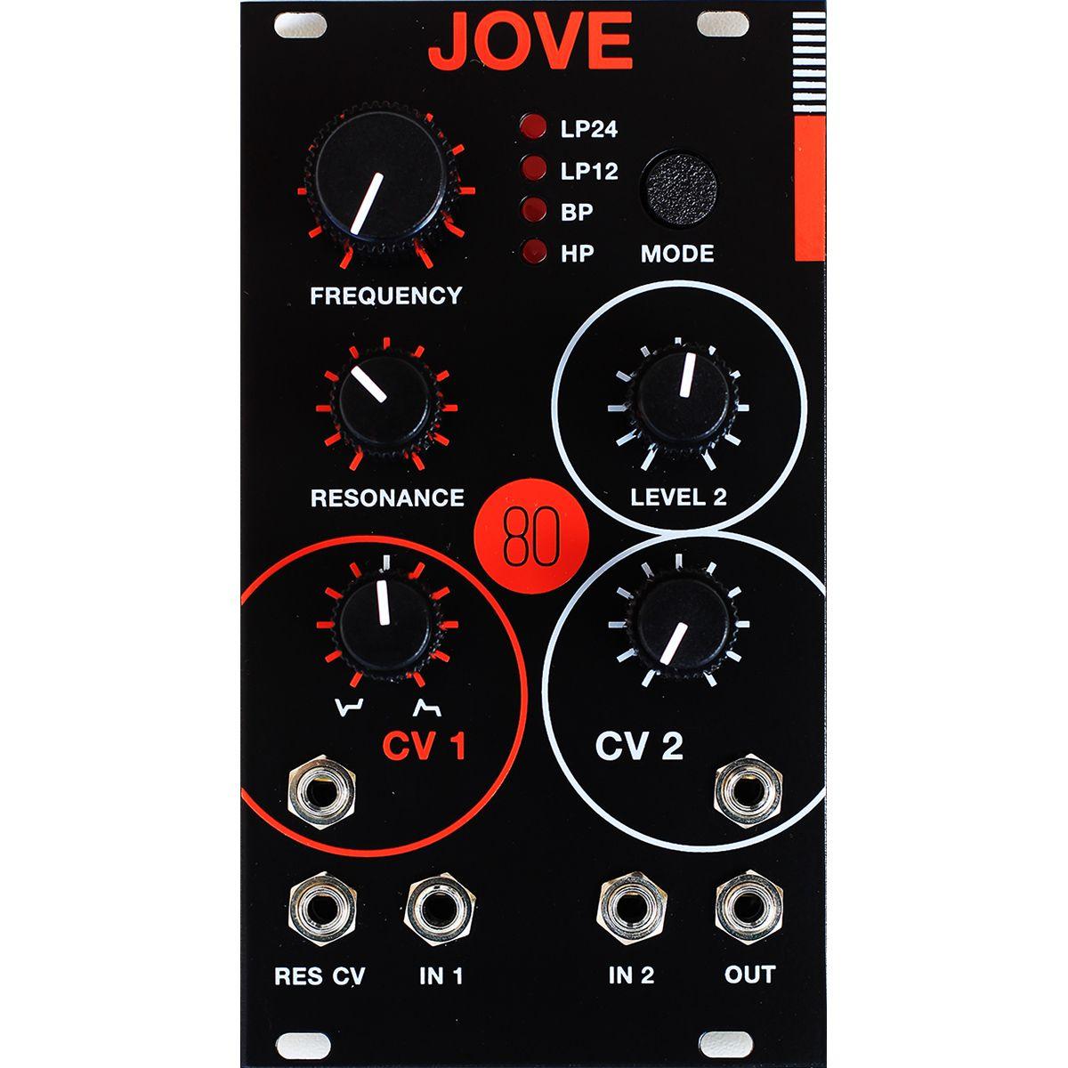 System80 JOVE Eurorack Filter Module (Jupiter 6) - LTD EDITION