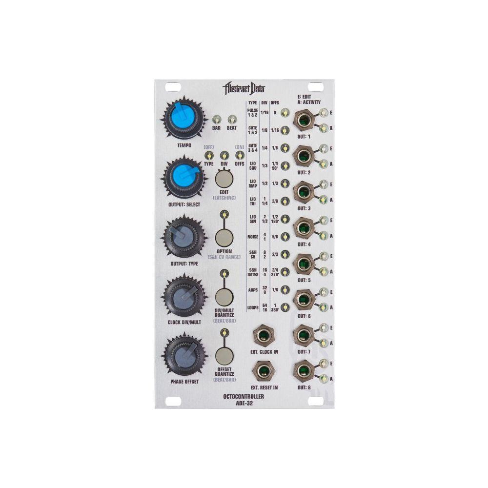 Abstract Data ADE-32 Octocontroller Modulation & Clock Eurorack Module V2
