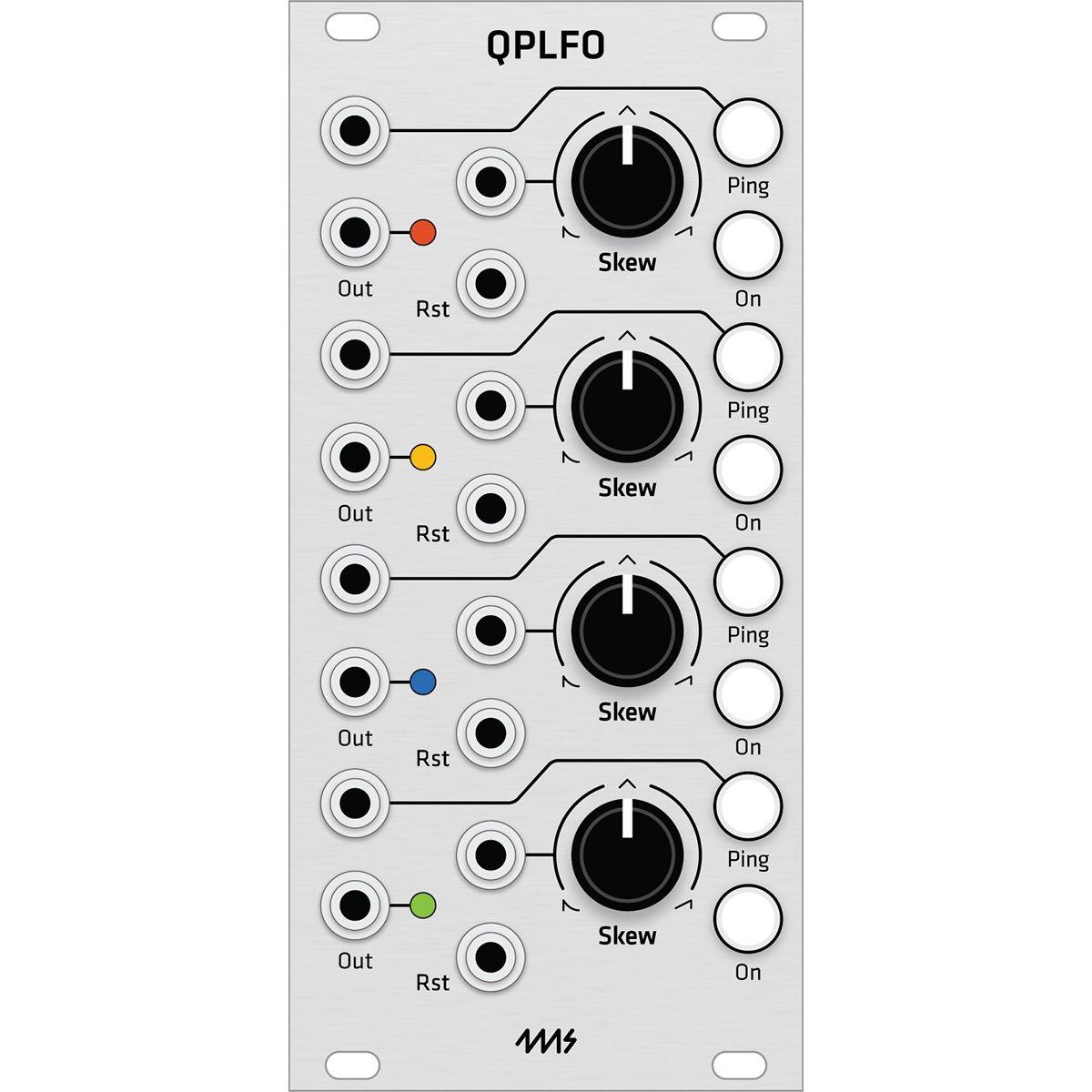 Grayscale Replacement Panel - 4ms QPLFO (Aluminium)