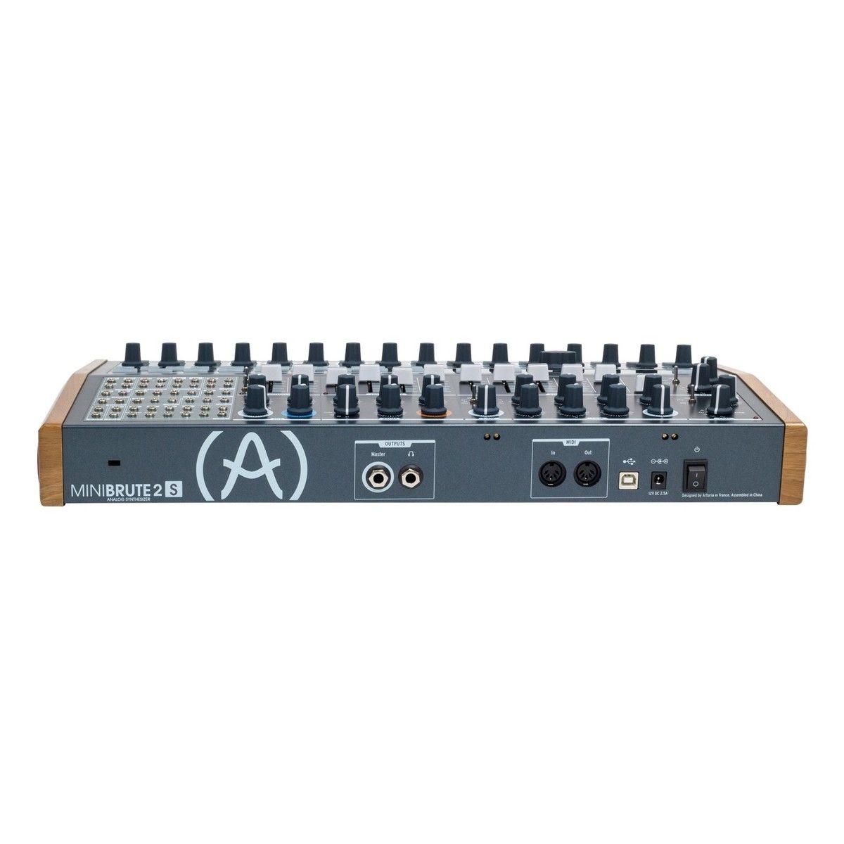 Arturia MiniBrute 2S Semi-Modular Analogue Synth