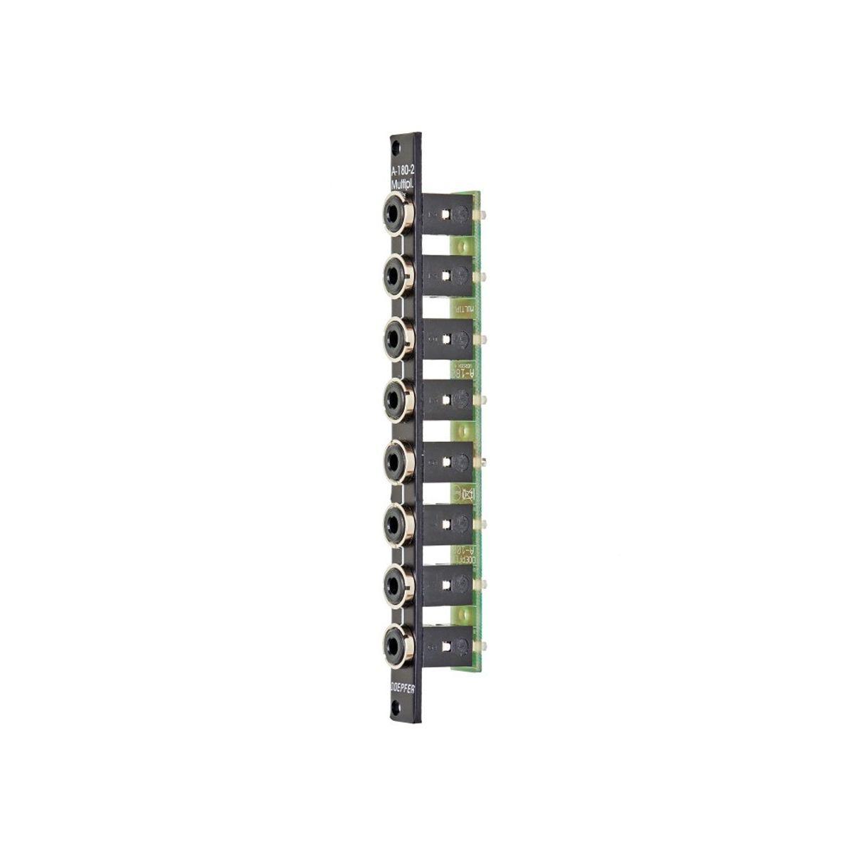 Doepfer A-180-2V Eurorack Mult Module (Vintage Black)