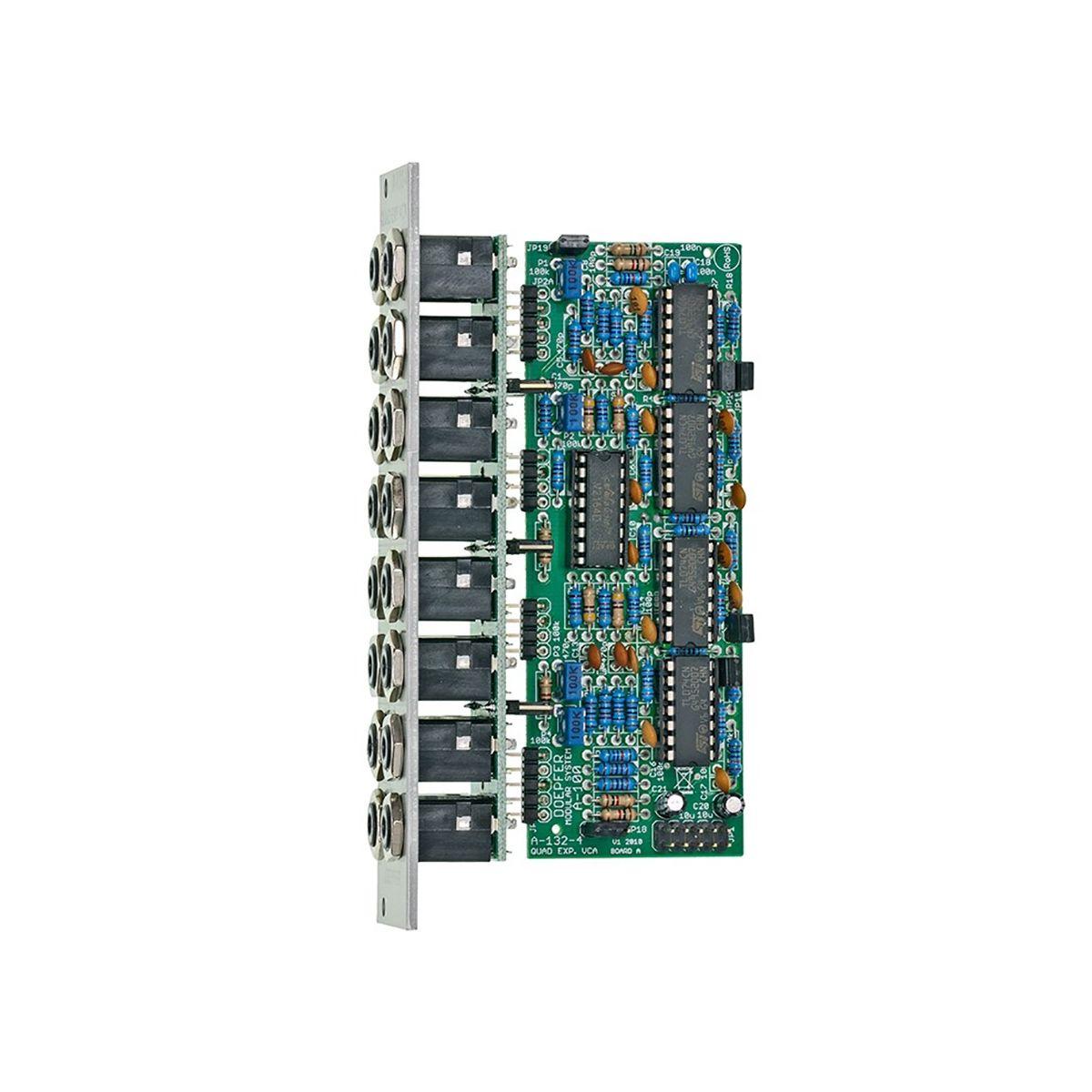 Doepfer A-132-4  Quad Exponential VCA Eurorack Module