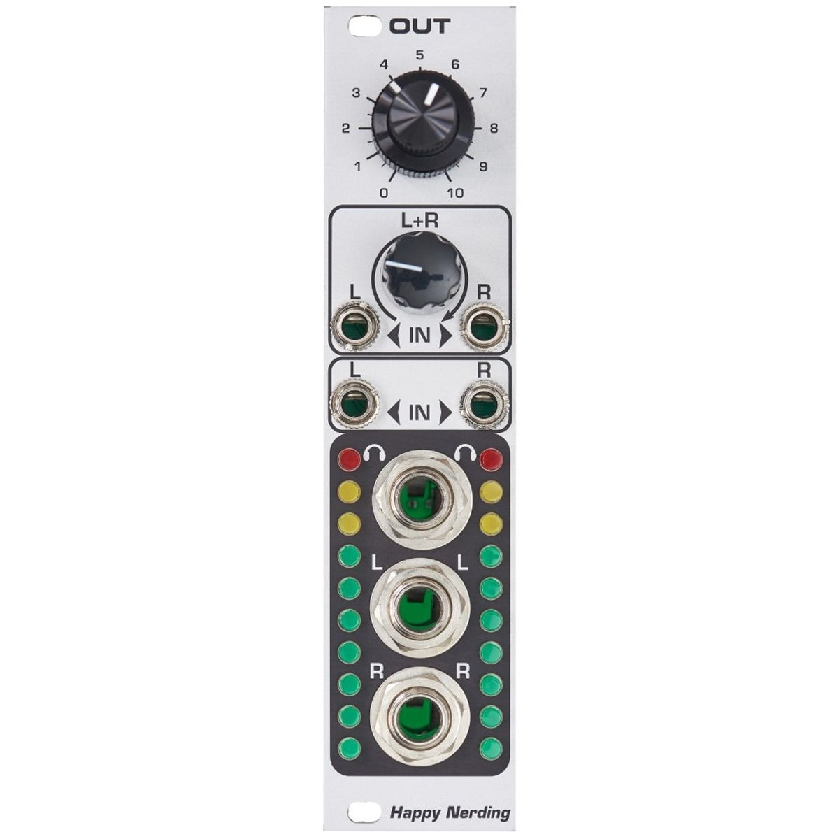 Happy Nerding OUT Eurorack Audio Output Module