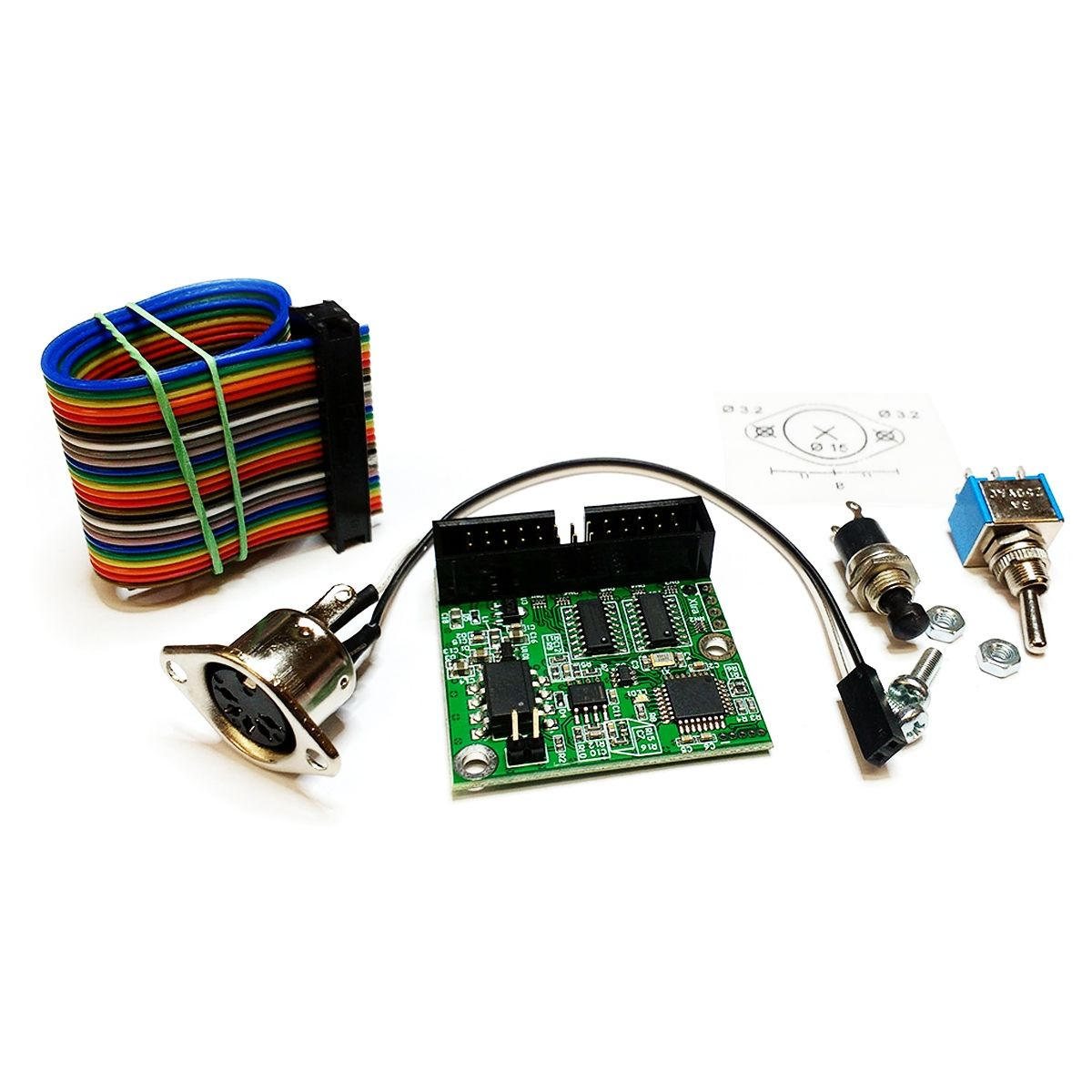 Tubbutec UniPulse MIDI Upgrade Kit (CR-78) MK3