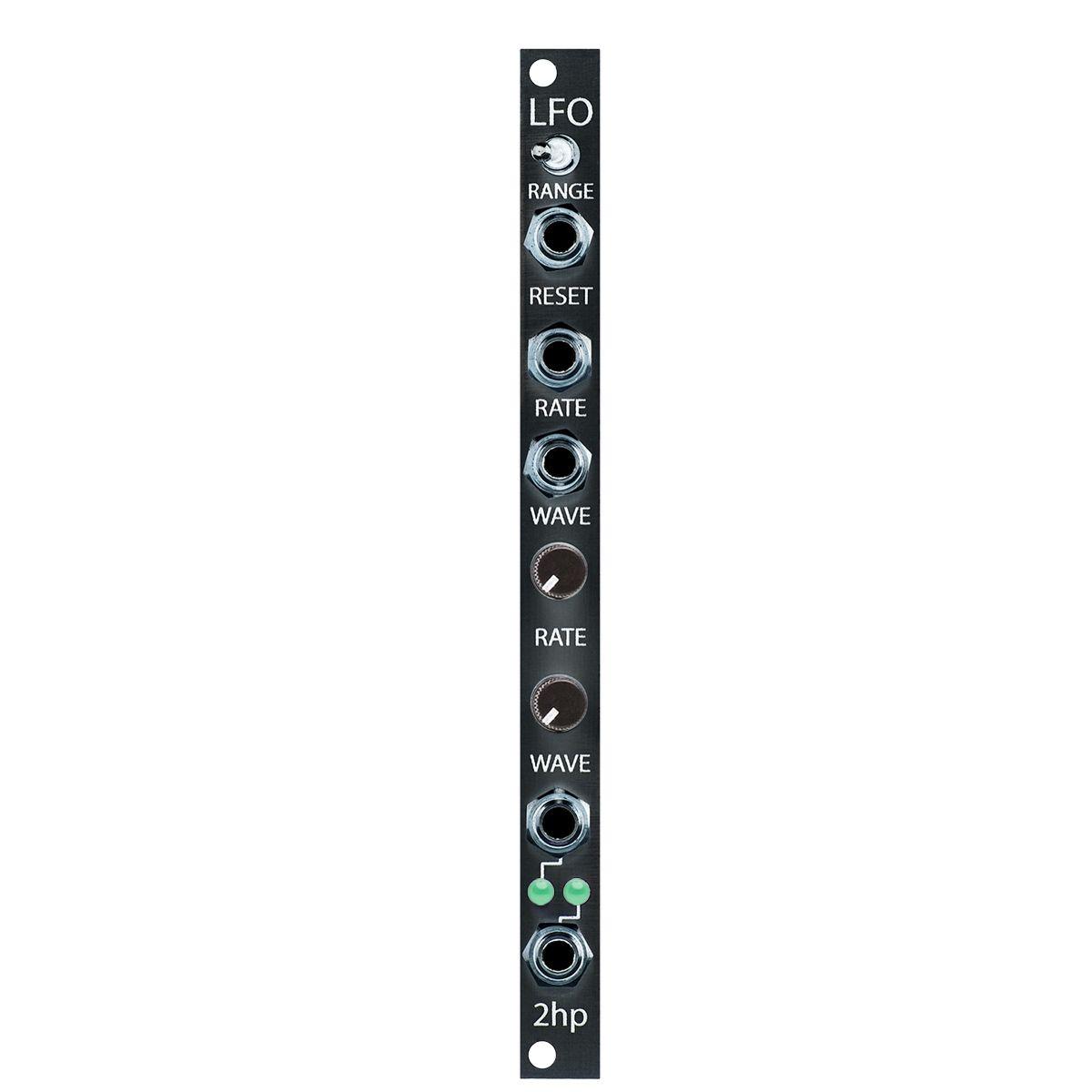 2hp LFO V2 Eurorack Module (Black)