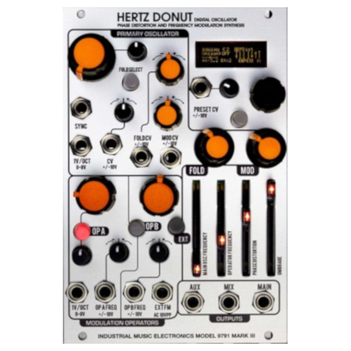 Industrial Music Electronics Hertz Donut MK3 Eurorack Oscillator Module