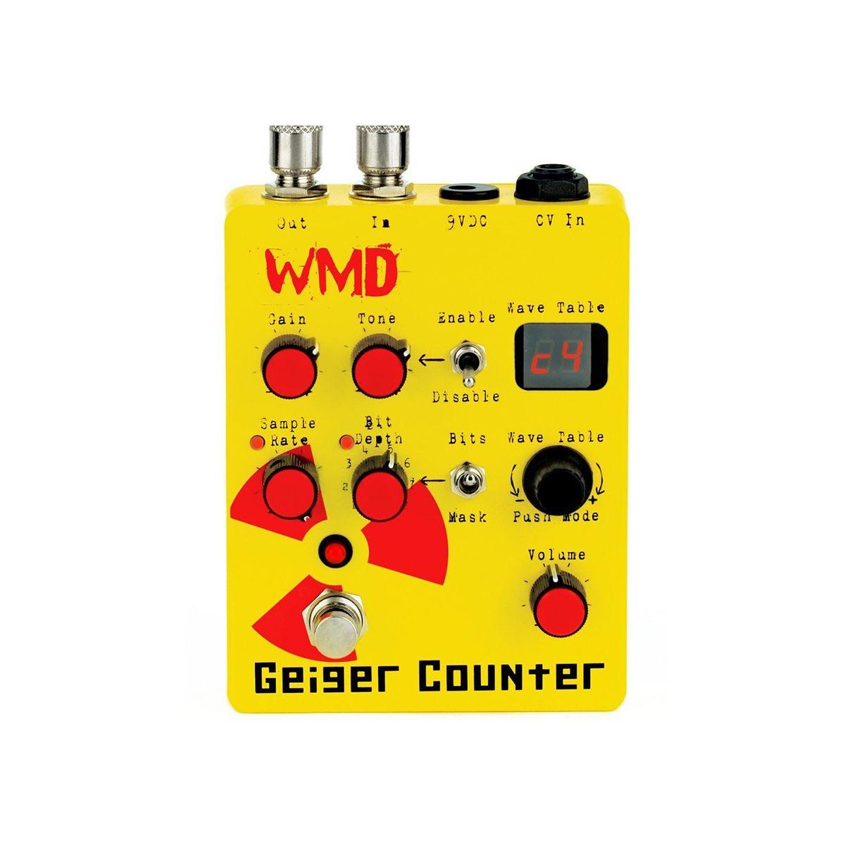 WMD Geiger Counter 8 Bit Overdrive Effects Processor