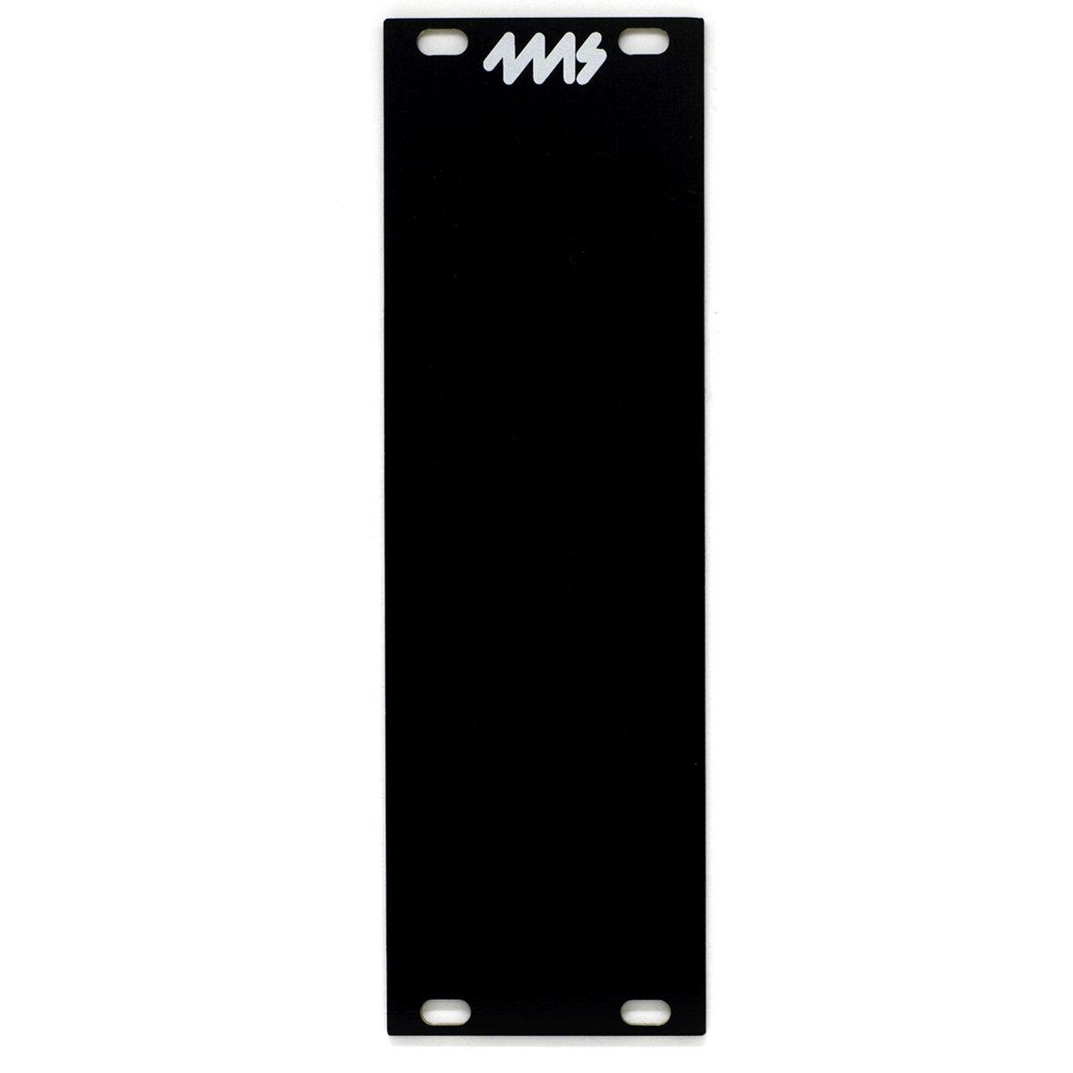 4ms Blank Panel - 8hp (Black)