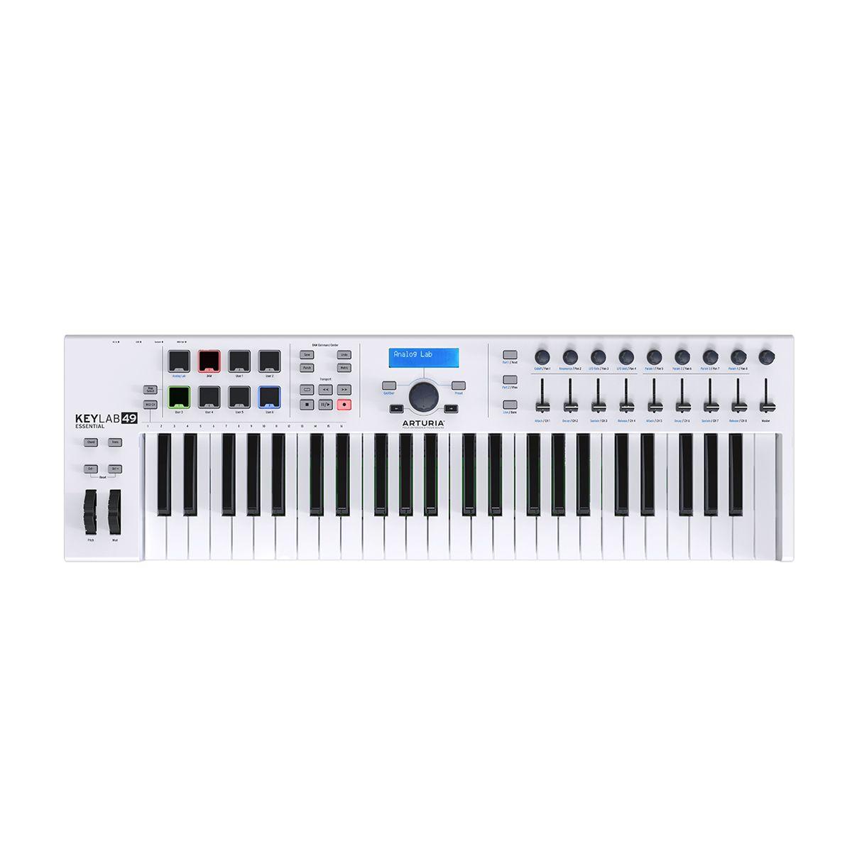 Arturia Keylab 49 Essential USB Controller Keyboard