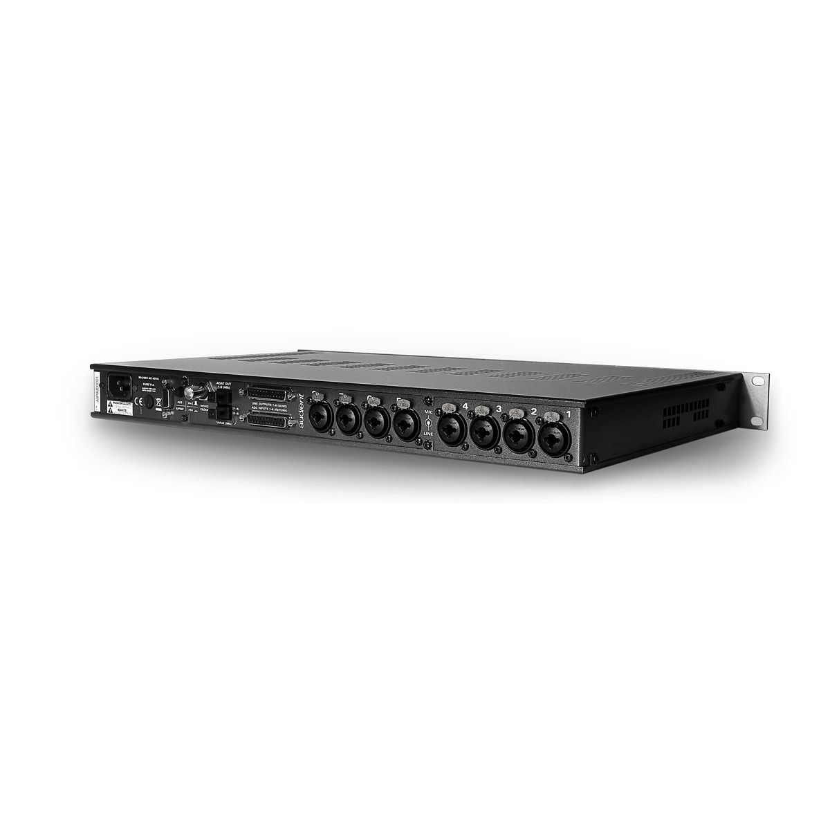 Audient ASP880 8 Channel Mic Preamp w/ ADAT i/o