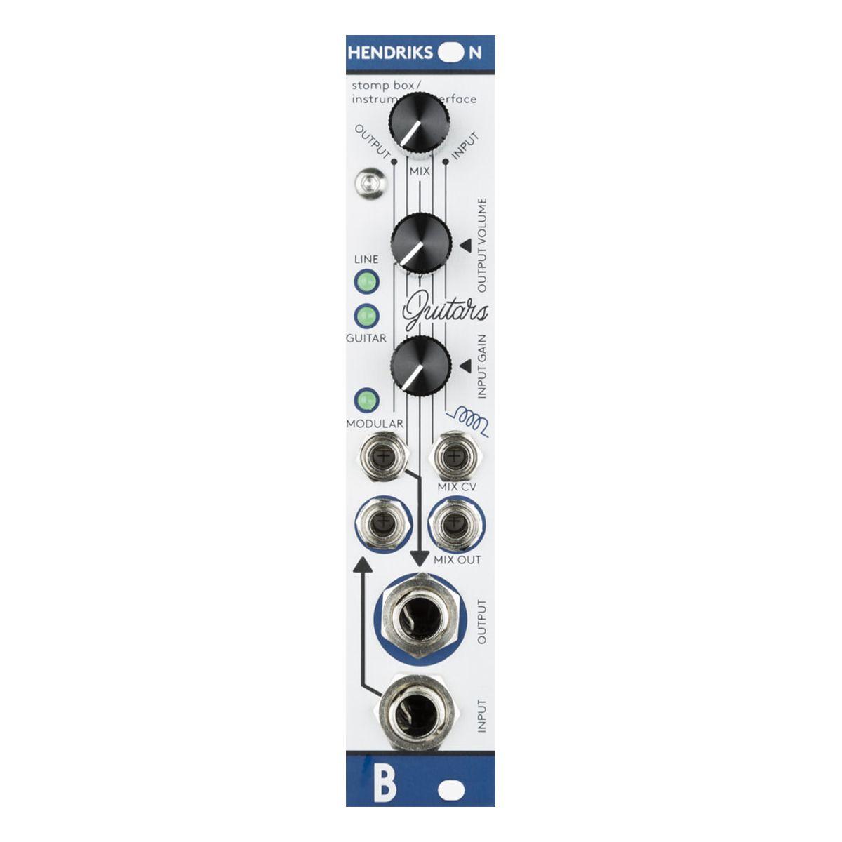 Bastl Instruments Hendrikson Eurorack Guitar/Instrument Amp Module (Metal)