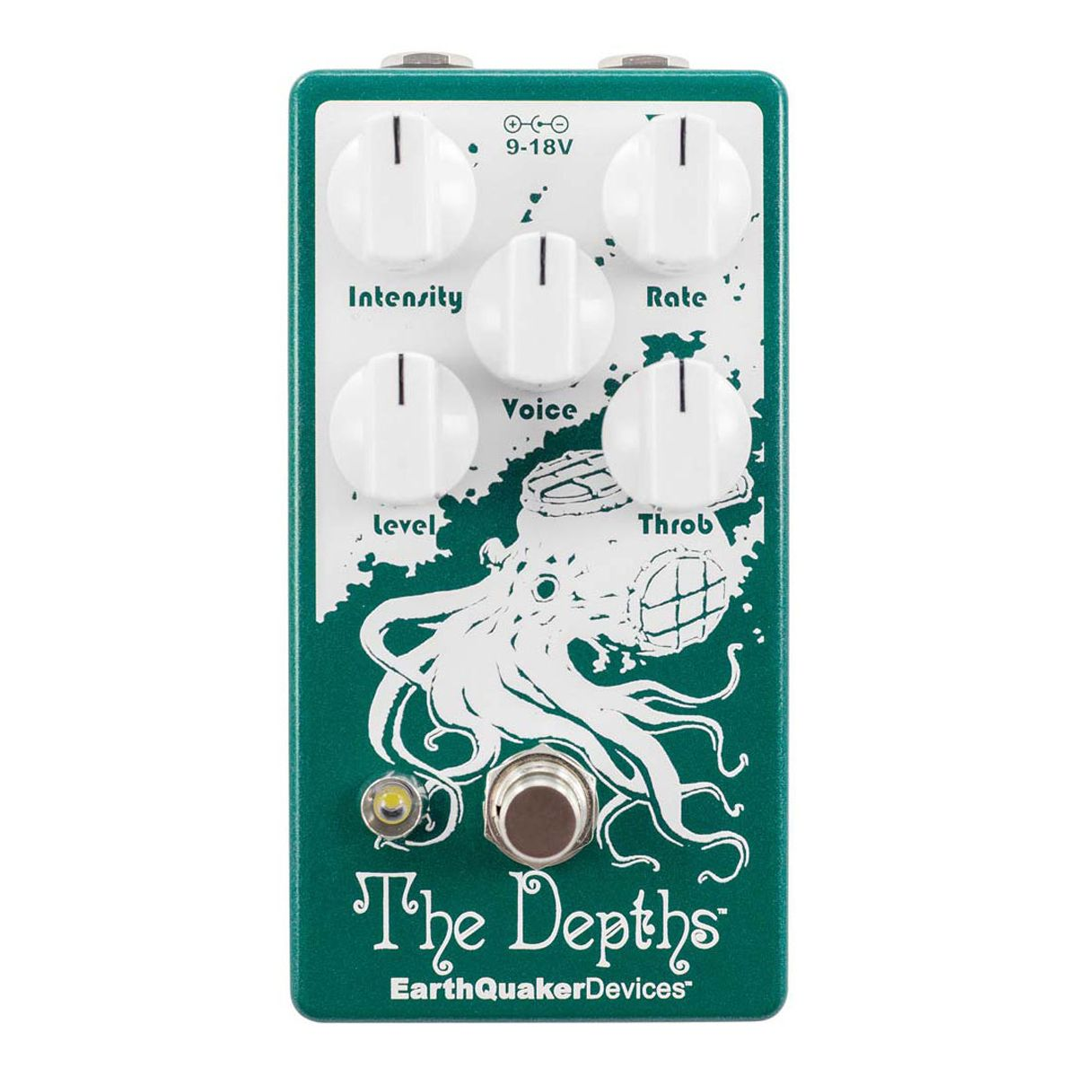 Earthquaker Devices The Depths Optical Vibe Pedal