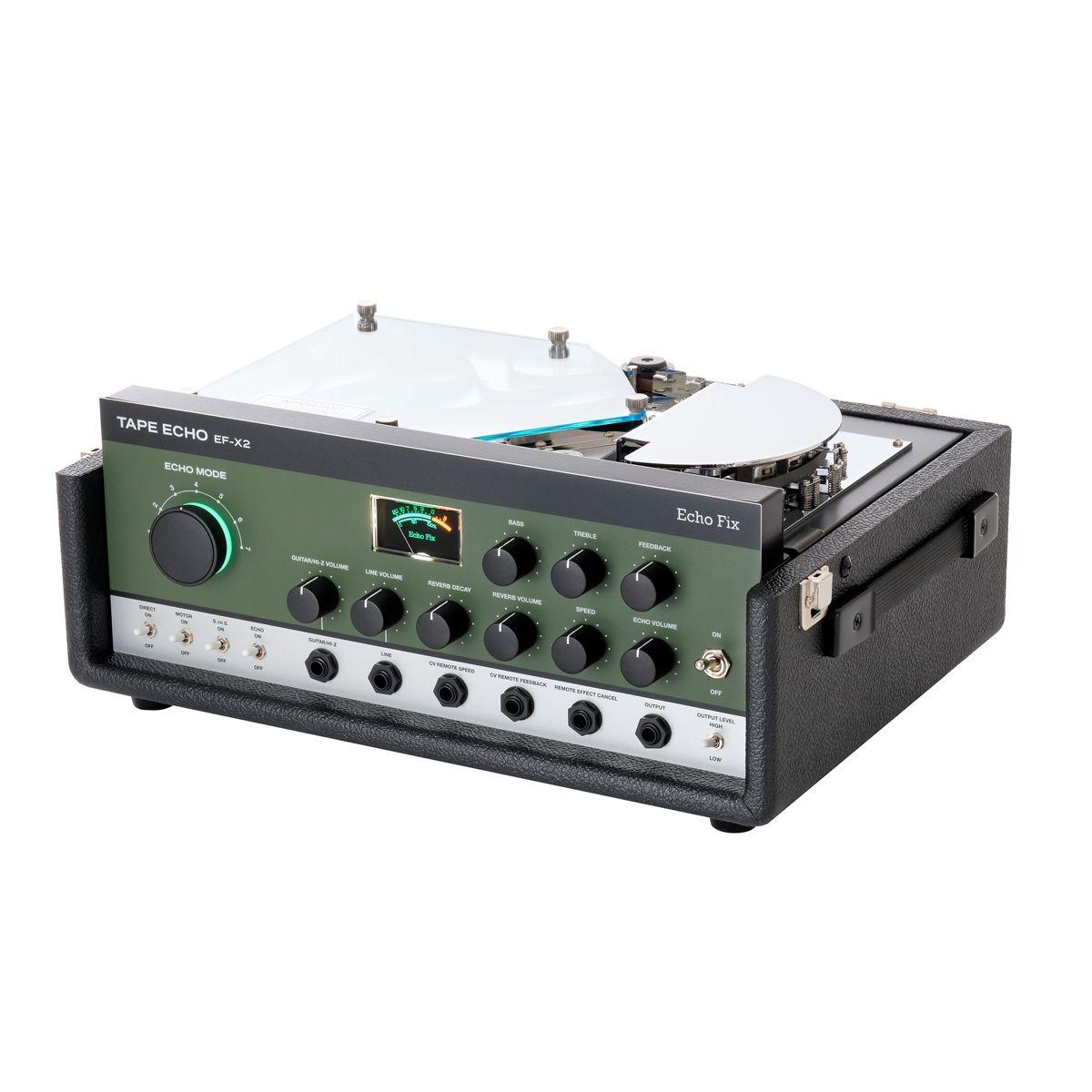 Echo Fix EF-X2 Tape Echo & Reverb Processor (Green)