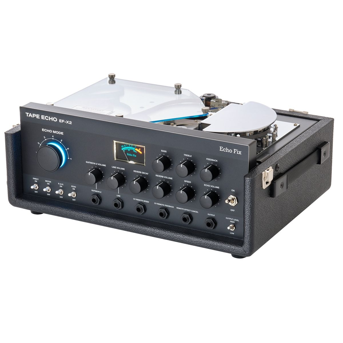 Echo Fix EF-X2 Tape Echo & Reverb Processor (Black)