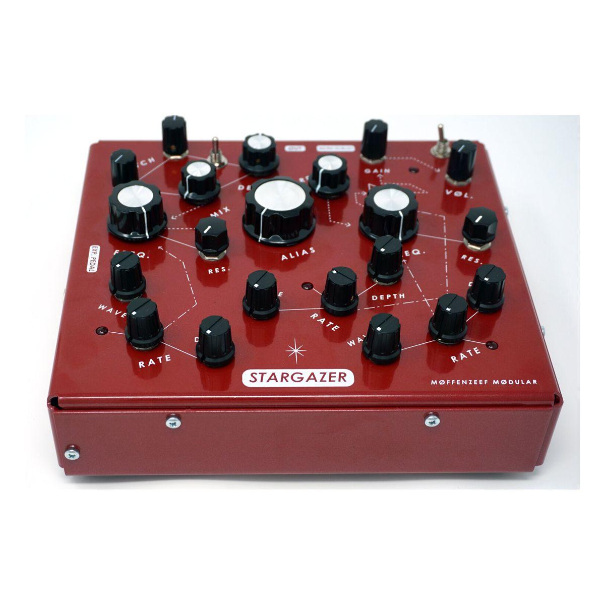Moffenzeef Stargazer Desktop Wavetable Synth - Red