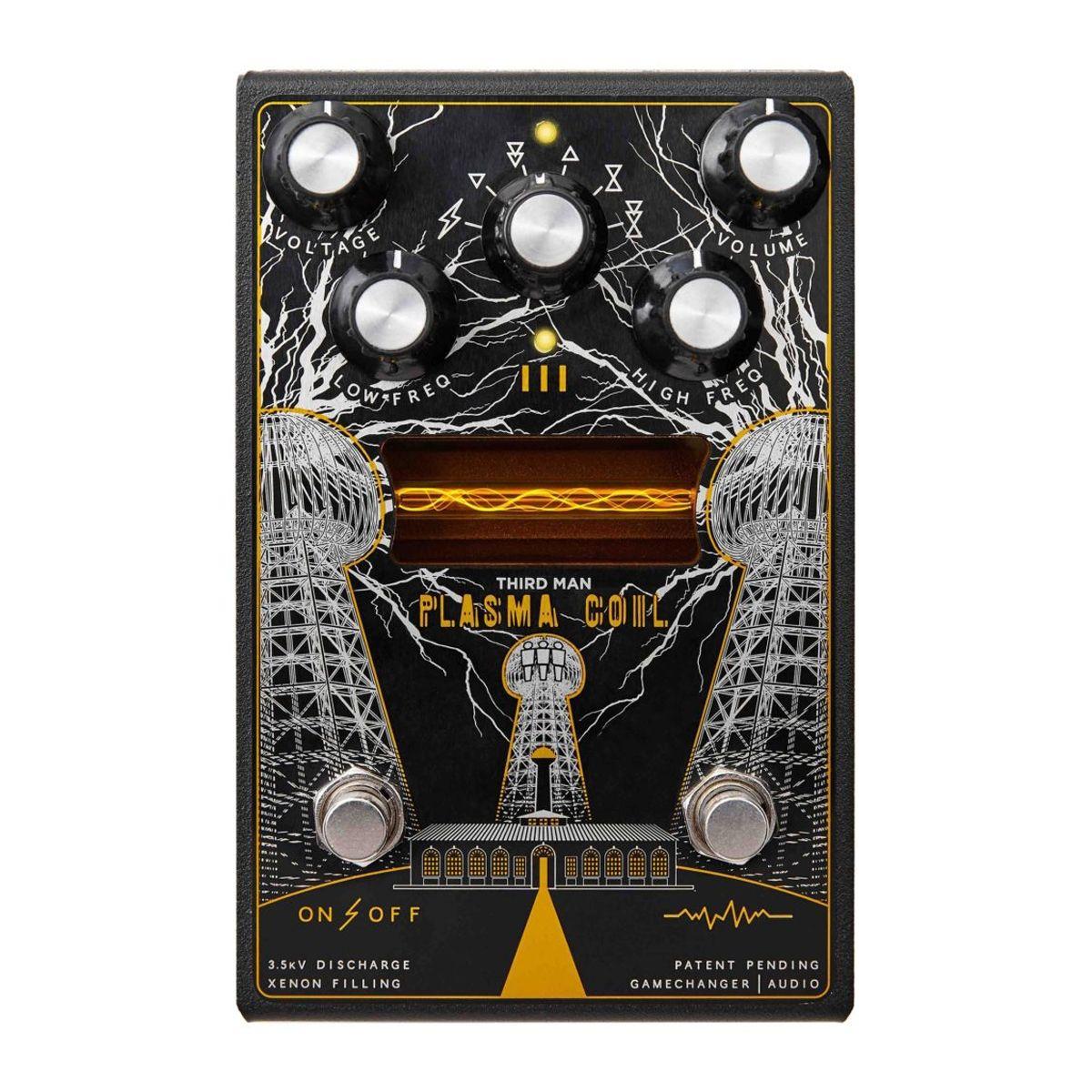 Gamechanger Audio Plasma Coil Distortion Effects Processor (Third Man Records)
